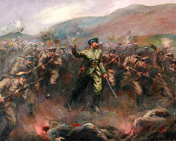Боят при връх св. Костадин